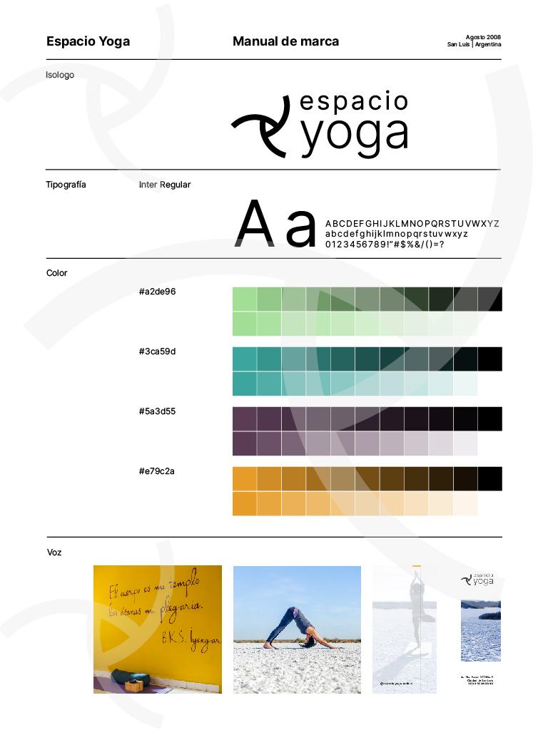 Guideline Espacio Yoga